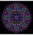 Geometric pattern Mosaic banner of geometric shape vector image