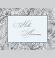 hand drawing frame 10 vector image vector image