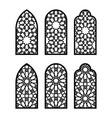 islamic arch window or door set cnc pattern