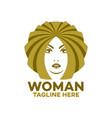 modern logo beauty and beautiful woman vector image vector image
