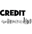 the easy way to build a great credit report text vector image vector image