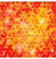 Abstract background of triangular polygons vector image
