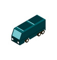 camper trip transport vehicle isometric icon vector image vector image