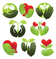 concept life and nature vector image vector image