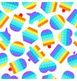 pop it seamless pattern antistress vector image vector image