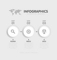 steps infographics template vector image vector image