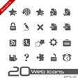 Web 20 Basics Series vector image vector image