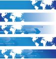 world banners vector image vector image