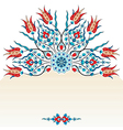 Antique ottoman turkish pattern design ninety vector image vector image