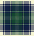 classic check plaid seamless pixel fabric texture vector image vector image
