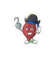 cool pirate liver cartoon design style with vector image vector image