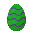 easter egg symbol icon design vector image