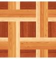Netting Parquet Seamless Floor Pattern vector image vector image