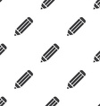 pencil seamless pattern vector image vector image