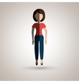 person avatar design vector image