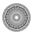 Round ornament design ethnic style