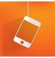 smartphone web icon vector image