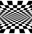 white-black checkered background for design-works vector image vector image