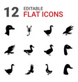 12 tattoo icons vector image vector image