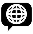 change language icon vector image