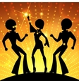 Dancing people vector image vector image