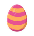 easter egg symbol icon design vector image