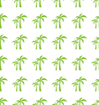 endless print texture with tropical palm trees vector image vector image