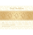 gold lace vector image vector image