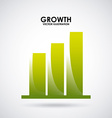 growth design vector image vector image
