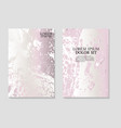 marble card wedding invitation card template vector image vector image