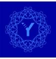 Monogram Y Design vector image vector image