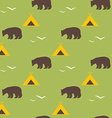 seamless national pattern with the image vector image vector image