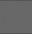 black and gray checkered background seamless vector image vector image