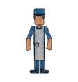 butcher avatar full body vector image