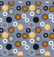 chinese signs seamless pattern vector image vector image