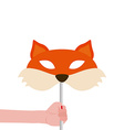 Fox Mask vector image vector image