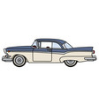 funny old american car vector image vector image