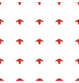 goat icon pattern seamless white background vector image vector image