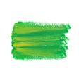 Green acrylic spot vector image vector image