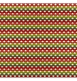 Knitted Christmas seamless pattern in traditional vector image