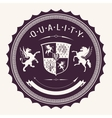 quality badges vector image vector image