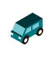 transport utility vehicle isometric icon vector image