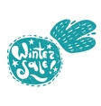 Winter snowball sale vector image vector image
