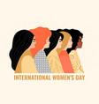 women different nationalities vector image vector image