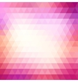 Triangle colorful abstract background vector image