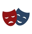 Theater masks vector image