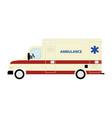 ambulance bus icon vector image