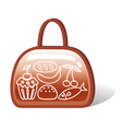 bag of food vector image vector image