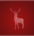 christmas theme design template vector image vector image