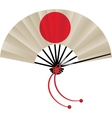 Japanese flag fan